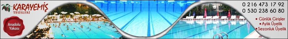 Karayemiş Tesisleri Yüzme Havuzu